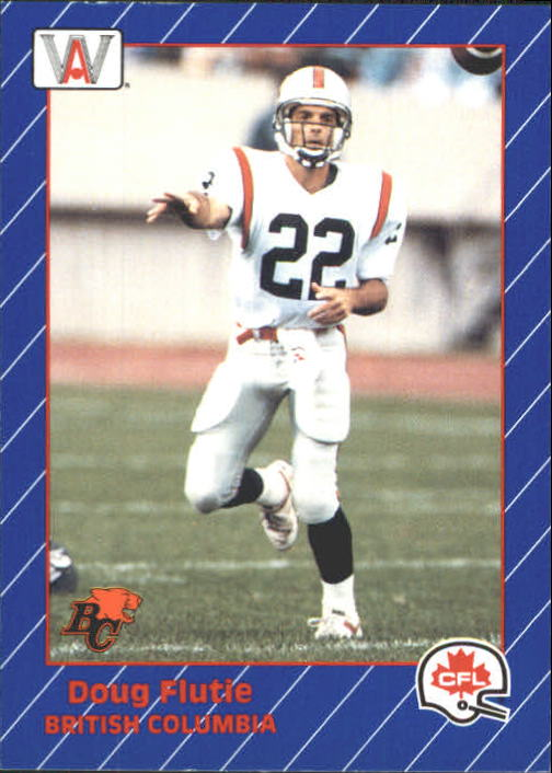 1991 All World CFL #7 Doug Flutie