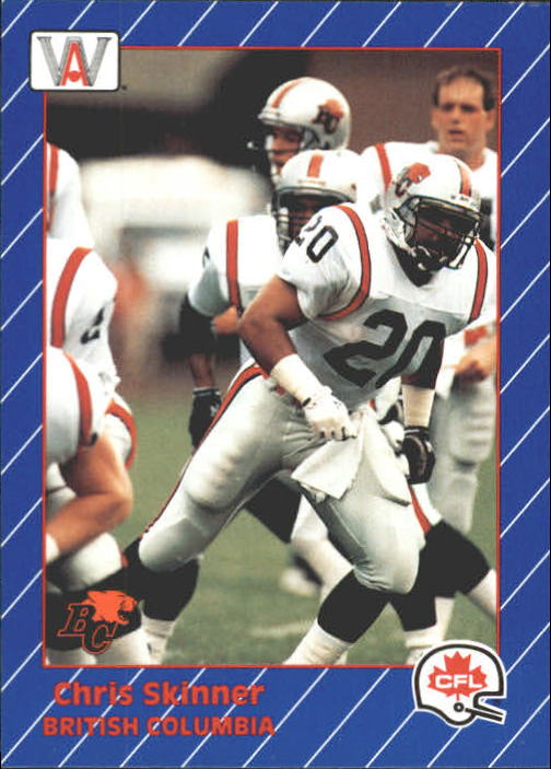 1991 All World CFL #14 Chris Skinner