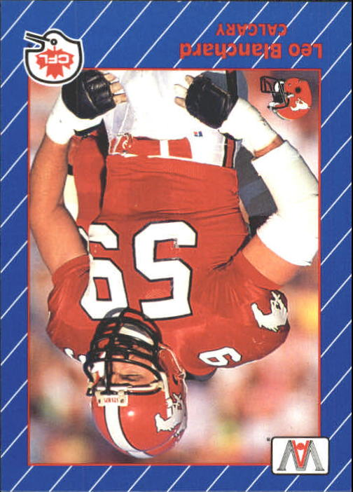 1991 All World CFL #20 Leo Blanchard