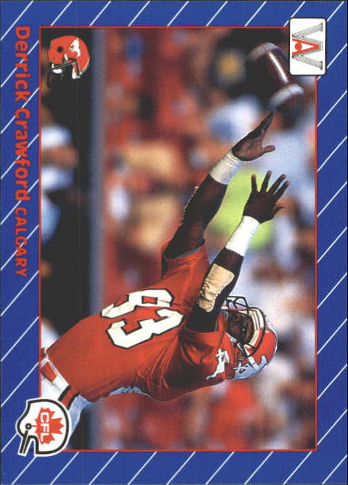 1991 All World CFL #21 Derrick Crawford