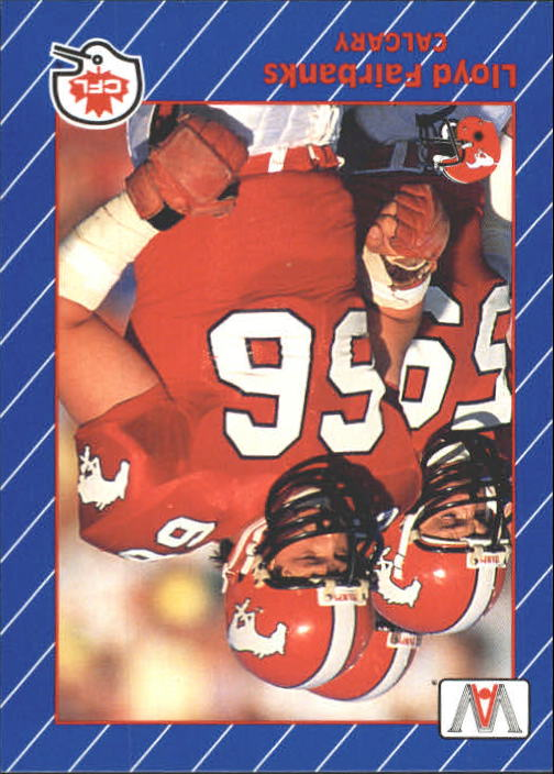 1991 All World CFL #22 Lloyd Fairbanks