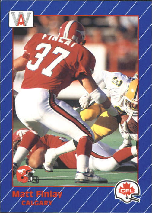 1991 All World CFL #24 Matt Finlay