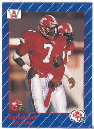 1991 All World CFL #25 Darryl Hall