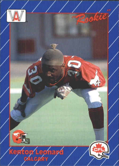 1991 All World CFL #28 Kenton Leonard