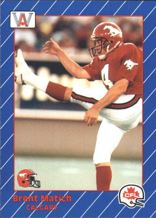 1991 All World CFL #29 Brent Matich