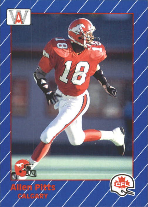 1991 All World CFL #32 Allen Pitts