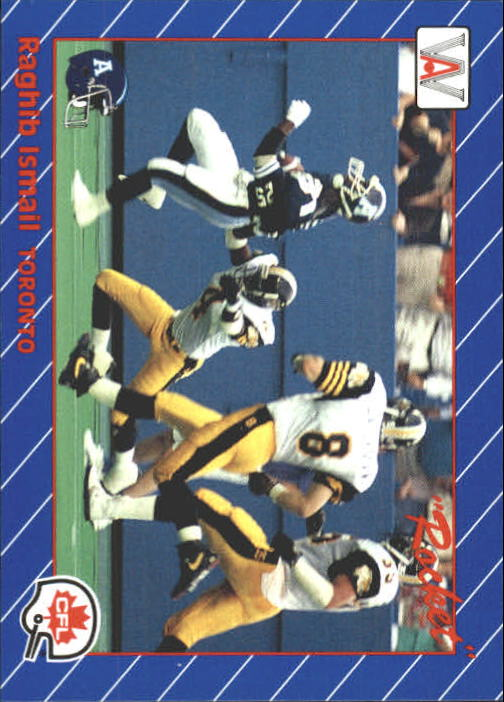 1991 All World CFL #33 Rocket Ismail