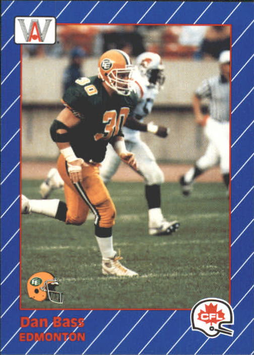 1991 All World CFL #34 Danny Bass