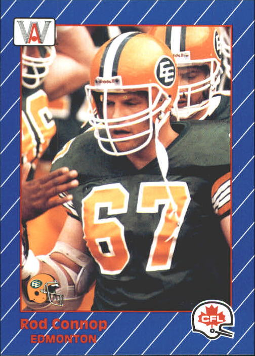 1991 All World CFL #36 Rod Connop