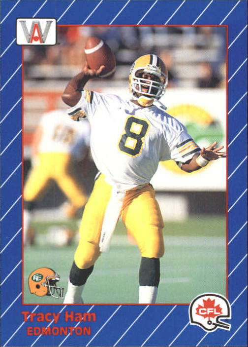 1991 All World CFL #40 Tracy Ham