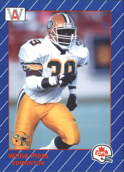 1991 All World CFL #42 Willie Pless