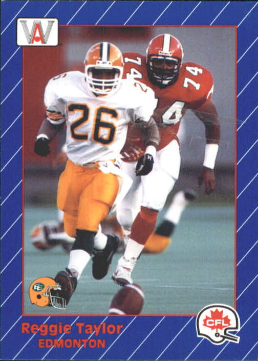 1991 All World CFL #45 Reggie Taylor