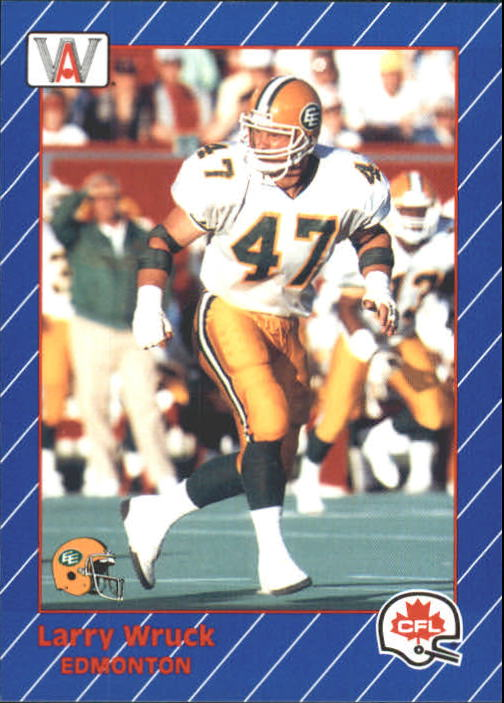 1991 All World CFL #48 Larry Wruck