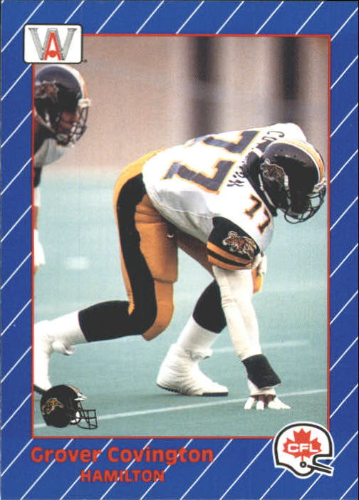 1991 All World CFL #49 Grover Covington