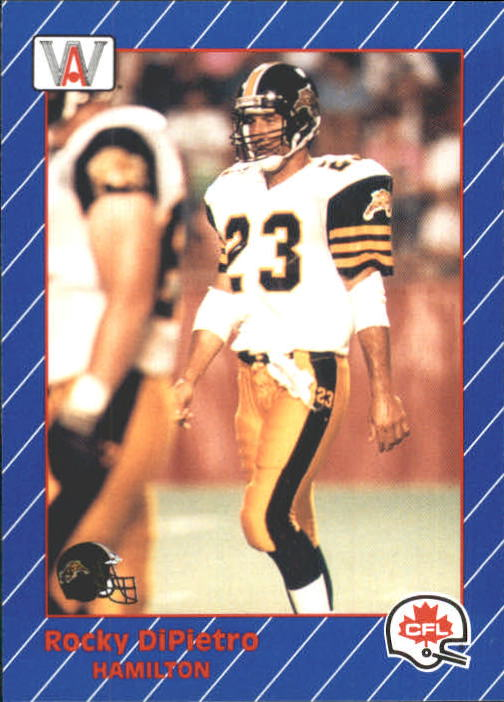 1991 All World CFL #50 Rocky DiPietro
