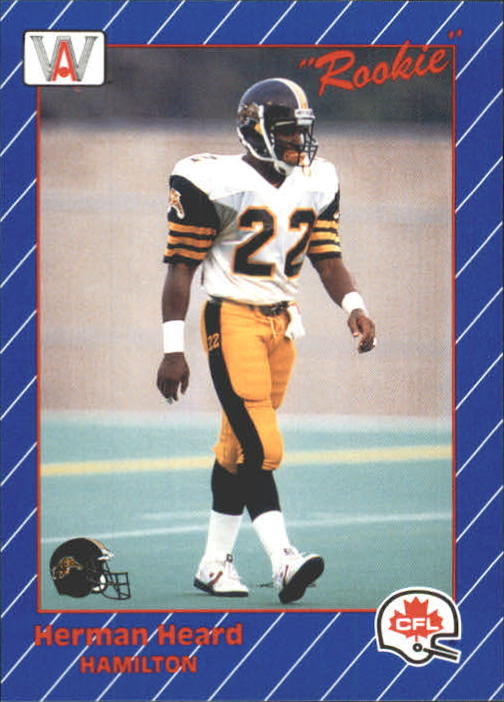 1991 All World CFL #53 Herman Heard