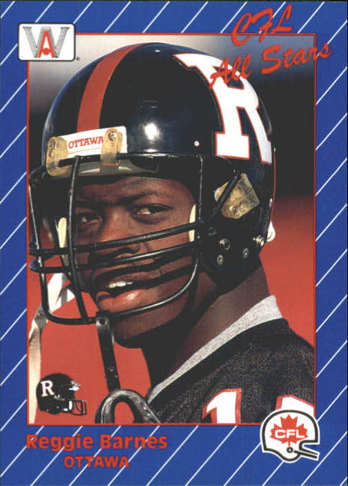 1991 All World CFL #55 Reggie Barnes AS