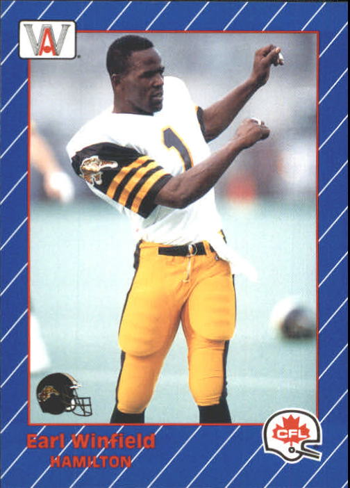 1991 All World CFL #58 Earl Winfield