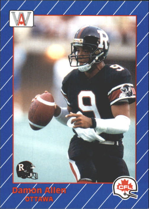 1991 All World CFL #60 Damon Allen