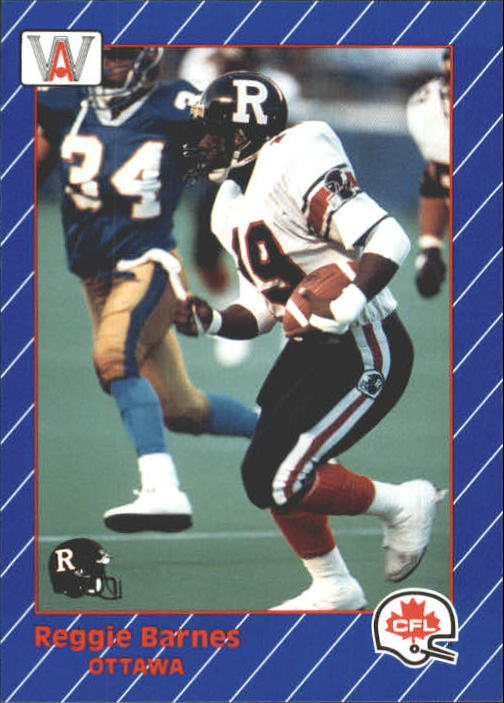 1991 All World CFL #61 Reggie Barnes