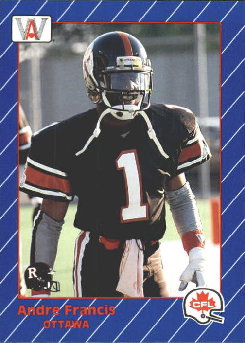 1991 All World CFL #65 Andre Francis