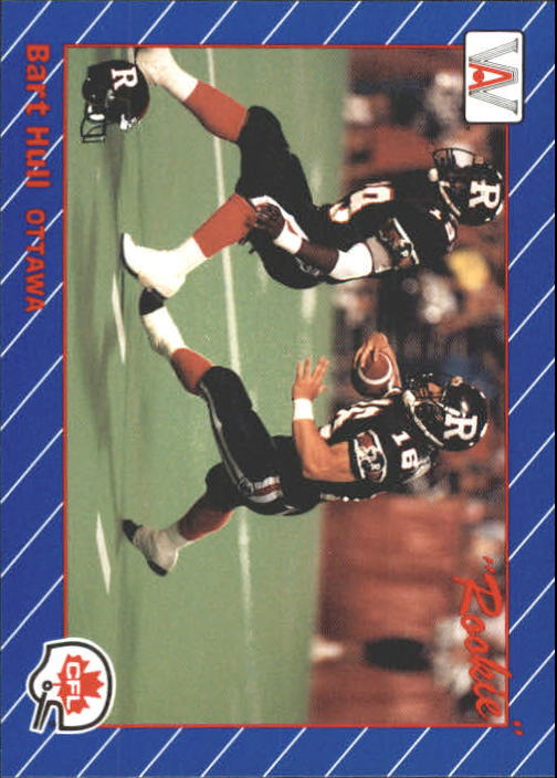 1991 All World CFL #66 Bart Hull