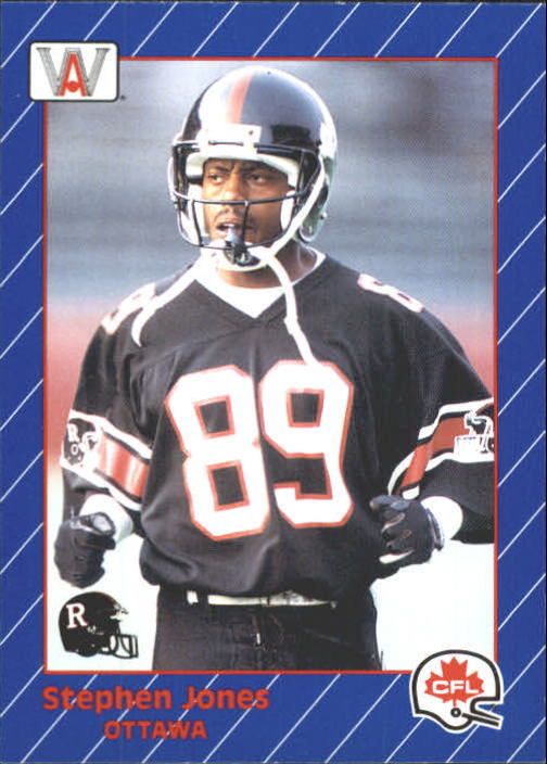 1991 All World CFL #67 Stephen Jones