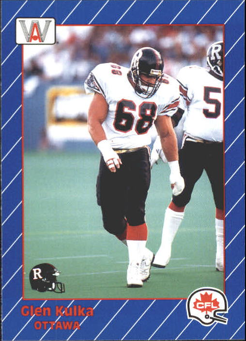 1991 All World CFL #69 Glenn Kulka