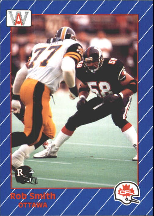 1991 All World CFL #71 Rob Smith