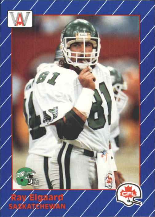 1991 All World CFL #74 Ray Elgaard