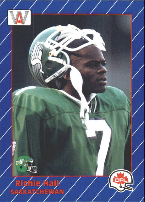 1991 All World CFL #77 Richie Hall
