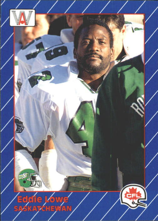 1991 All World CFL #79 Eddie Lowe