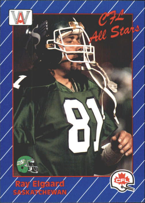 1991 All World CFL #80 Ray Elgaard AS