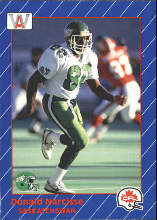 1991 All World CFL #81 Donald Narcisse