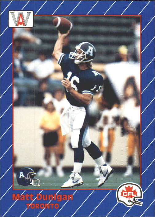 1991 All World CFL #87 Matt Dunigan