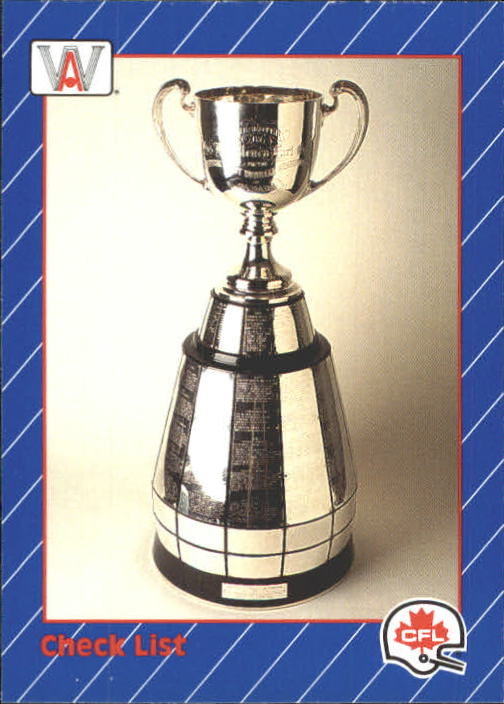 1991 All World CFL #88 Grey Cup