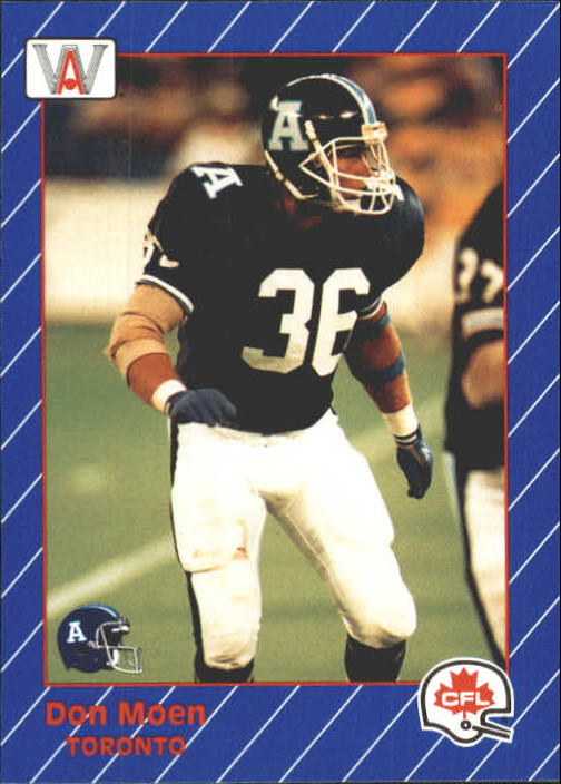 1991 All World CFL #91 Don Moen