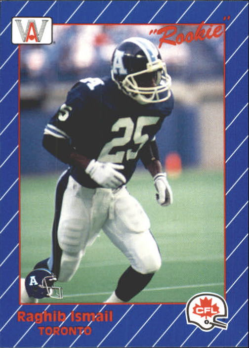 1991 All World CFL #92 Rocket Ismail