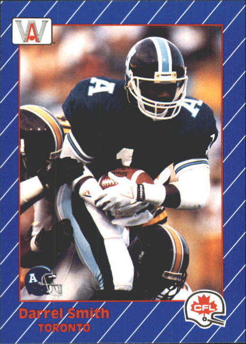 1991 All World CFL #94 Darrell Smith UER
