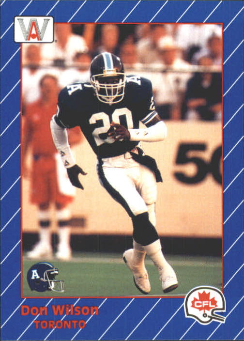 1991 All World CFL #97 Don Wilson