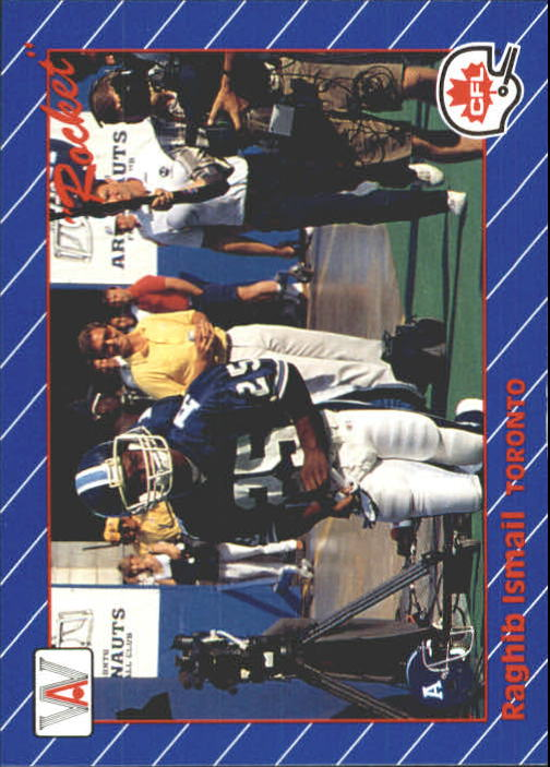 1991 All World CFL #101 Rocket Ismail