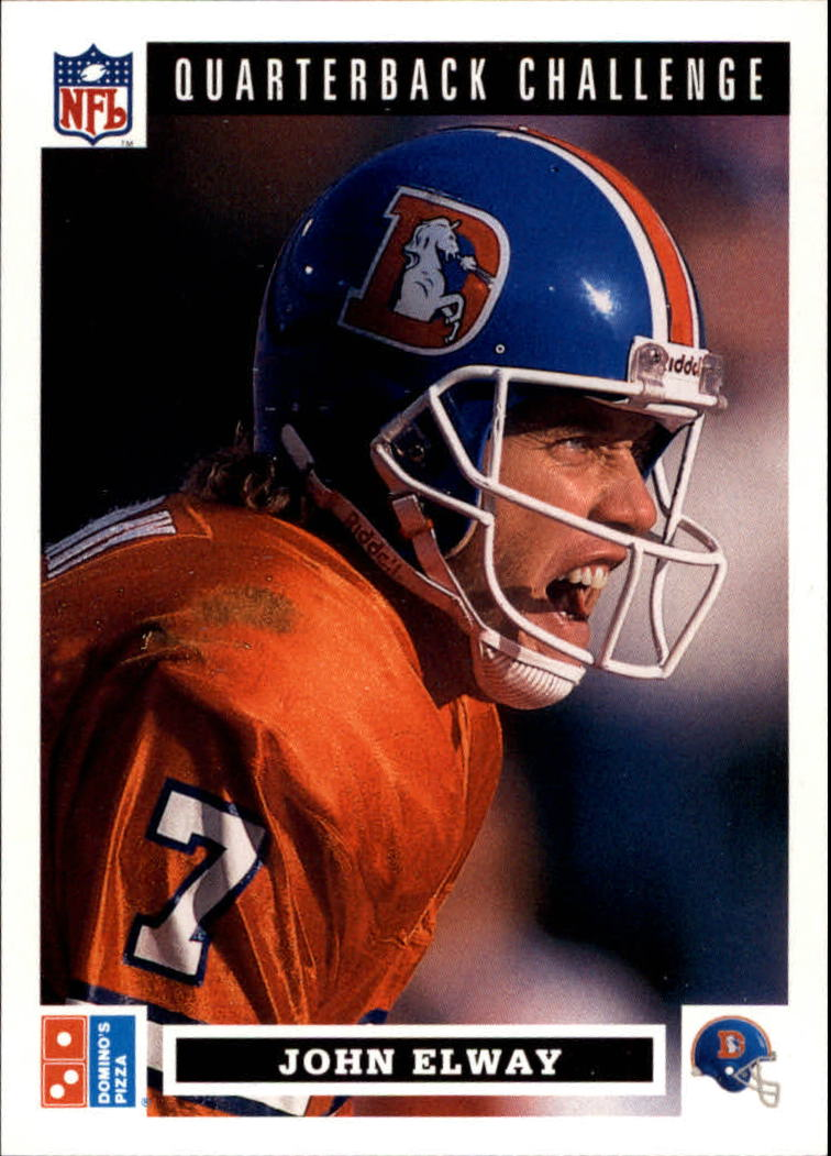 1991 Domino's Quarterbacks #7 John Elway