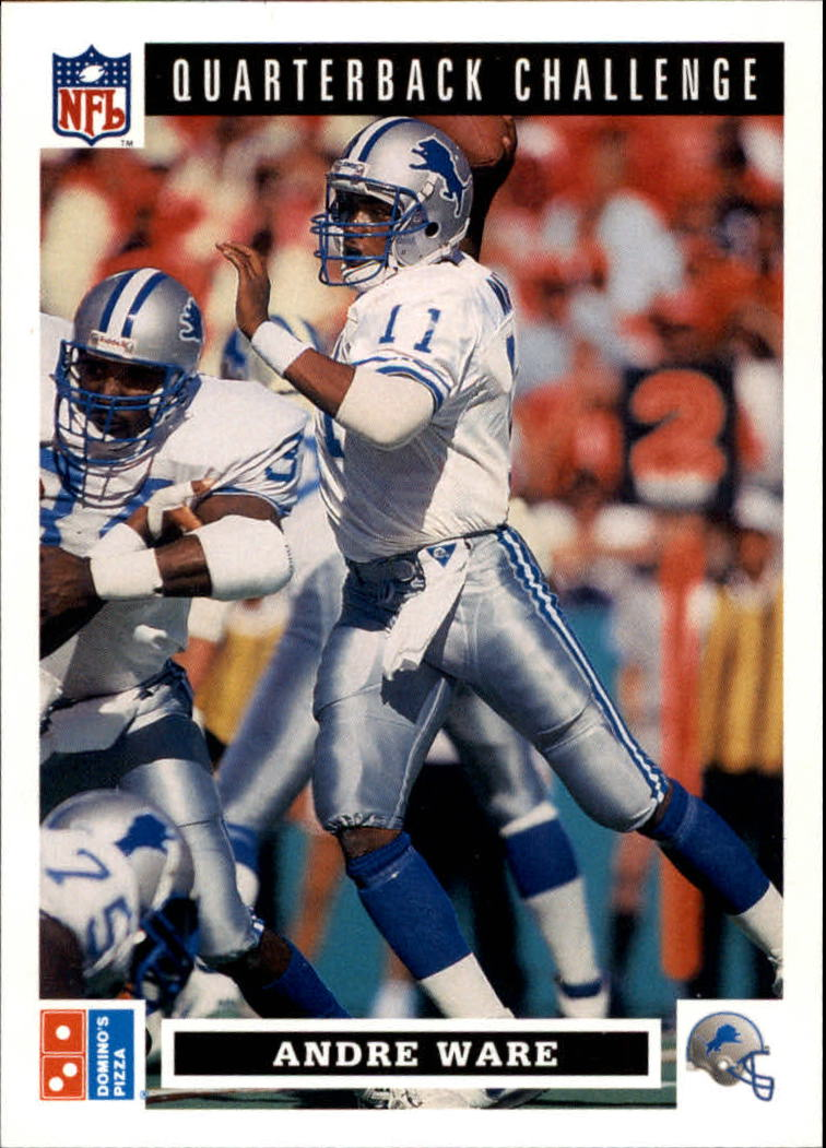 1991 Domino's Quarterbacks #9 Andre Ware