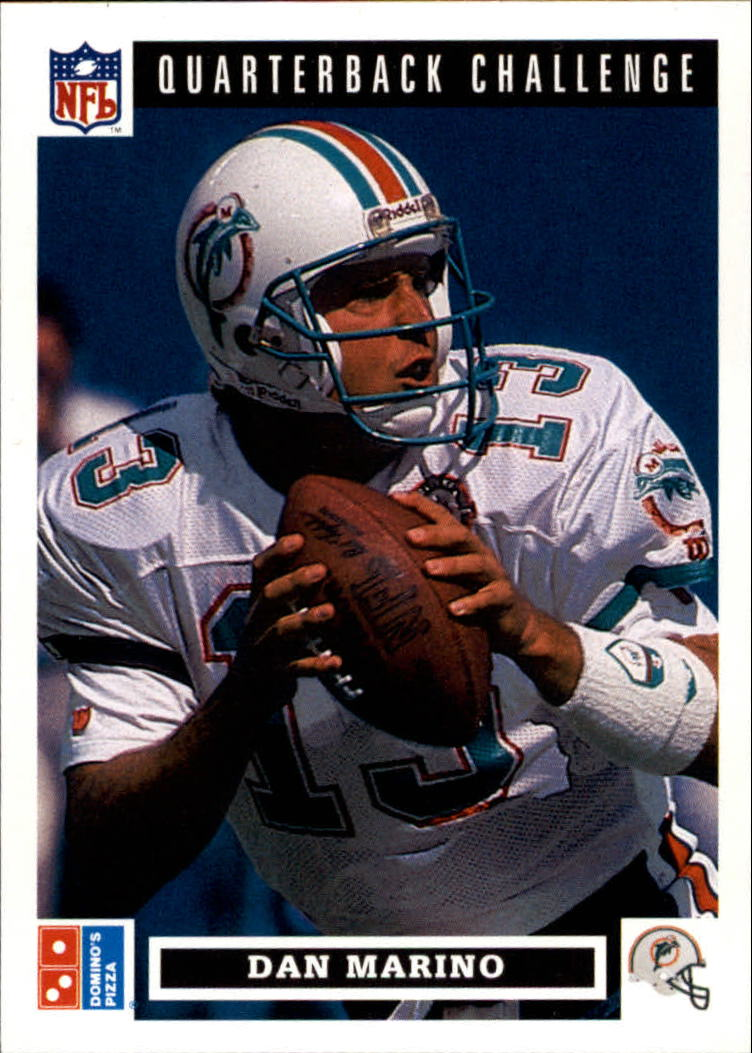 1991 Domino's Quarterbacks #16 Dan Marino