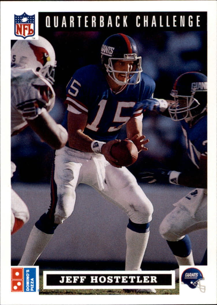 1991 Domino's Quarterbacks #18 Jeff Hostetler