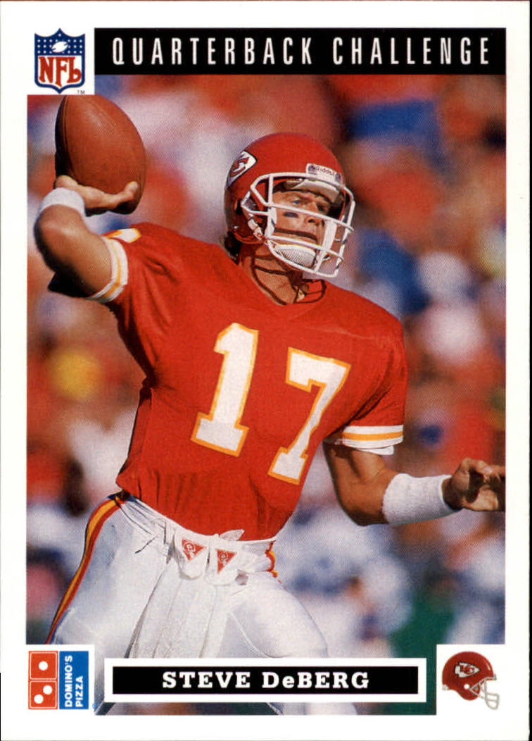1991 Domino's Quarterbacks #22 Steve DeBerg