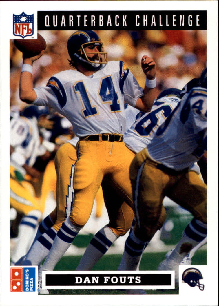 1991 Domino's Quarterbacks #35 Dan Fouts