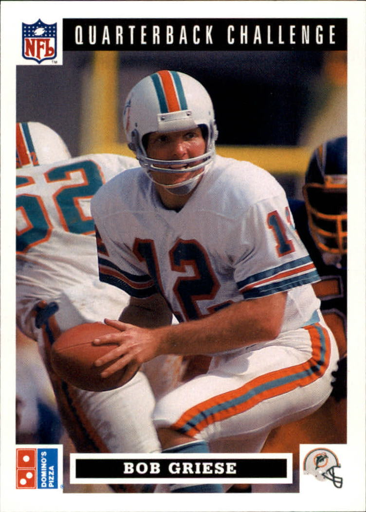 1991 Domino's Quarterbacks #37 Bob Griese