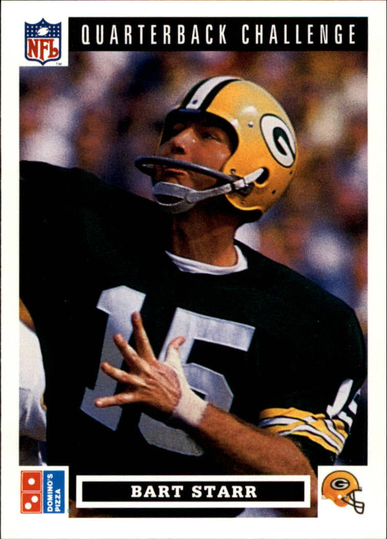 1991 Domino's Quarterbacks #42 Bart Starr
