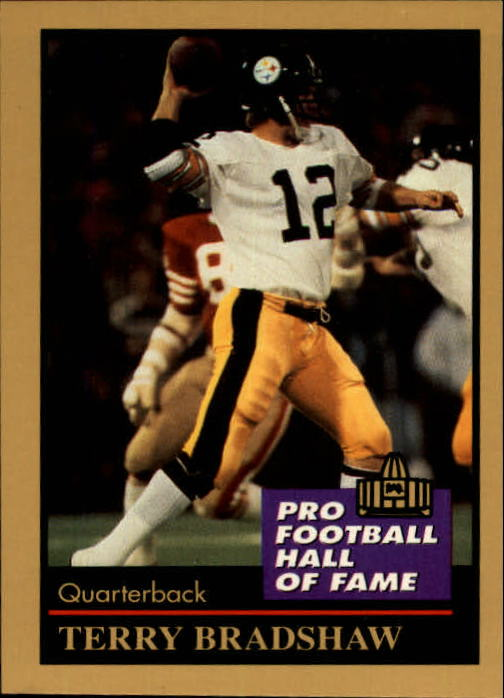 1991 ENOR Pro Football HOF #16 Terry Bradshaw